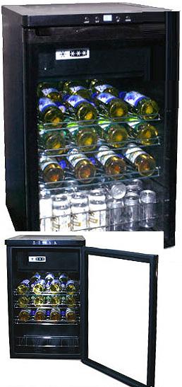WINE CELLAR 118L冷凍庫付きワインセラー業務用の定番 静音コンプレッサ方式UVカットガラスで紫外線をカットご家庭でワインを静かに美味しく保管32本収納家庭用コンパクトワインセラー設定温度デジタル表示ワインクーラー ワイン保冷庫