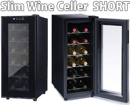 スリム&コンパクトでありながら最大収納12本!容量40L!1ドア ワインセラー トール庫内にライトがつき、ラベル確認も簡単庫内の温度表示ディスプレイ色んなワインをこれ一台で収納 40リットル日本酒や焼酎などの酒庫としても最適!一升瓶も保存可能!
