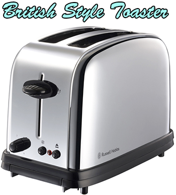 英国ブランドならではの丸みのフォルム食パンや雑穀パンを美味しく焼き上げるクラシックデザインでスタイリッシュポップアップトースター2枚のトーストを美味しく焼ける焼きムラをなくす構造設計 Classic Toaster