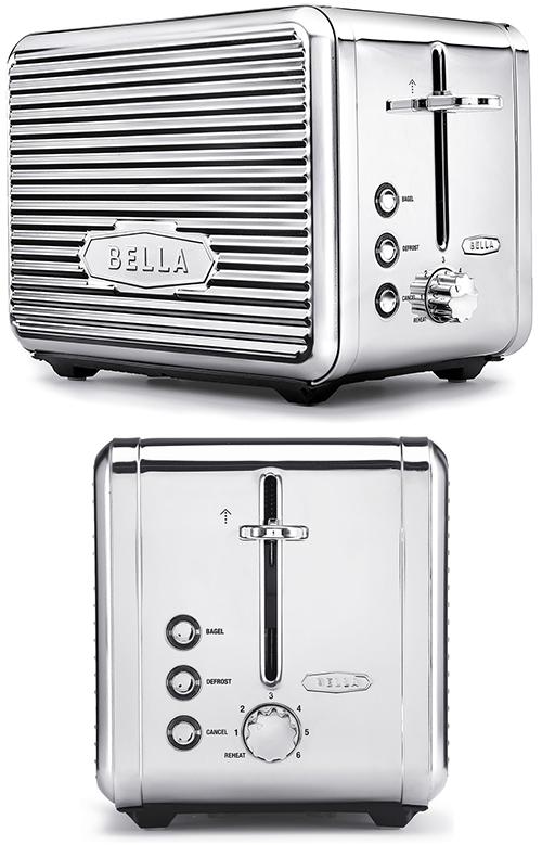 英国ブランドならではの丸みのフォルム食パンや雑穀パンを美味しく焼き上げるステンレスクラシックデザインでポップアップトースター2枚のトーストを美味しく焼ける900W Classic Toasterグリーン レッド グレー ブラックブルー ホワイト パープル