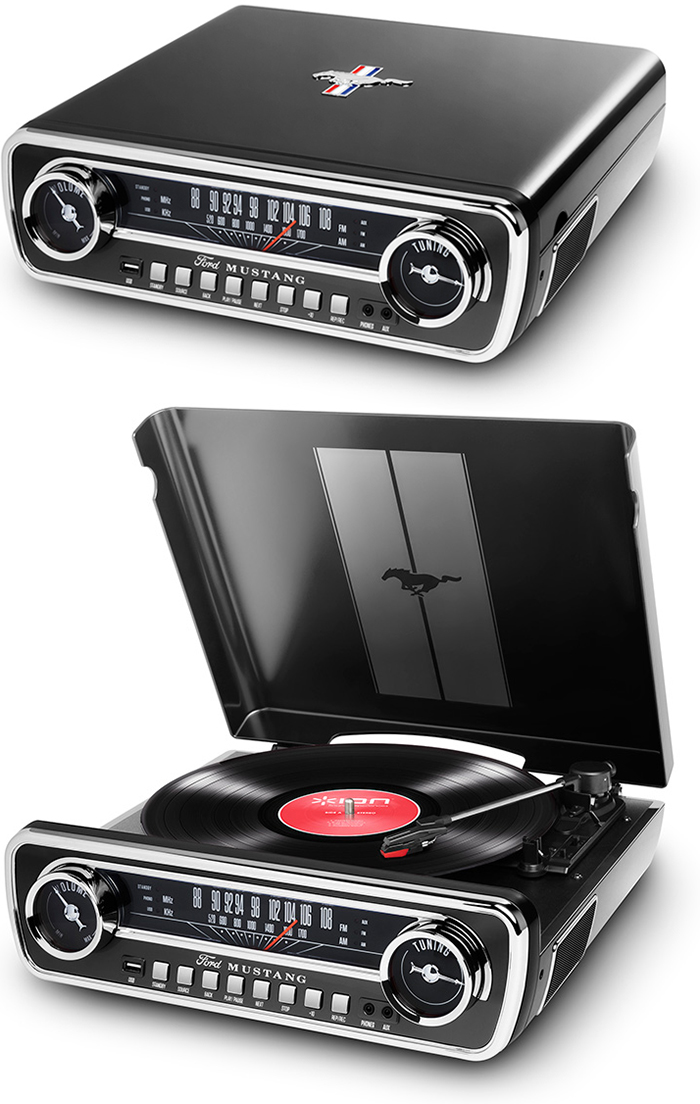 オールインワンクラシックプレイヤーレコードプレイヤー&CDプレイヤーAMラジオ&FMラジオ USBメモリプレイヤークラシックスタイル外部入力端子も装備レコードや外部入力音源をデジタル録音可能