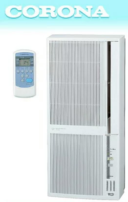CORONA コロナ ウィンドウエアコン冷房 4.5~8畳  暖房 4~6畳窓用エアコン ウインドエアコンクーラー リモコン付き取り付け簡単 即設置即使用可能取り外しも簡単 シティホワイト