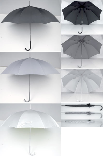 LEXON LU17 umbrellaレクソン 傘 アンブレラグレー シルバー ブラックデザインにこだわりにある方へSMITH UMBRELLA Design Lexon Studio
