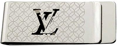 LOUIS VUITTON マネークリップパンスビエシャンゼリゼ ルイヴィトンお財布を持ちたくない方にエンボスLVロゴルイビトン ビルクリップストア壁画デザインモノグラムフラワーシャンゼリーゼ アクセサリー