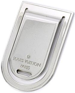 LOUIS VUITTON マネークリップルイヴィトン シルバーパンスアビエポルトアドレス紙幣30枚までネームタグお財布を持ちたくない方にルイビトン ビルクリップ紙幣をスマートかつシックに持ち運ぶタイムレスでマスキュリンなアクセサリー ロゴ刻印