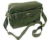 プラダ ショルダーバッグPRADA BT0166 VELA斜めがけショルダーバックベラ ヴェラ ナイロンキャンバスバック カバン 鞄ブラック NERO