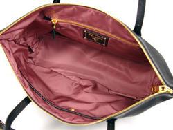 普拉达 (prada) 购物测试与真皮皮革 semishoulder 手提包尼龙背袋里包 Tessuto + sffin 黑色的 tot 普拉达 (prada) BR4257 挎包尼禄红色 PORPORA 布朗 BRUCITO 紫茶藨 MORDORE 卡其布复膜