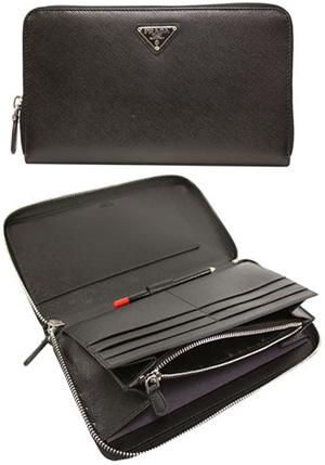 a0e24993b5b431 Prada PRADA pencil with Croc purse 1M1188 SAF ORO QHH NERO 1 S reverse  triangle logo ...