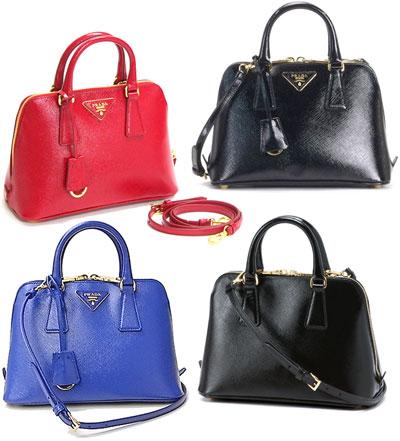 06900ed30c3d PRADA Prada 2WAY shoulder bag with Keyring black red blue embossed calf  コーティングサフィアーノ leather removable strap handbag BAG BL0838 SAFFIANO VERNICE ...