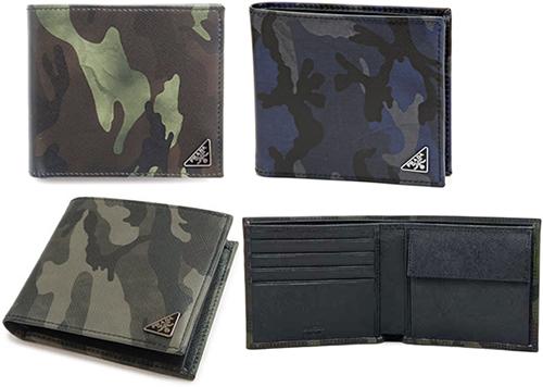 0d668b92b20e canada mens black prada wallet 4cd1e 99a4d; reduced prada prada mens rubx 2  fold bi fold wallet 2m0738 camouflage saffiano camouflage camo green