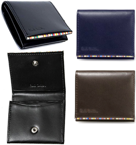 3b0abde97bf4 Calf-leather hook wallet coin purse emboss logo black dark brown dark  navy-blue piping edge multi-stripe men wallet traditional fashion emboss  logo end ...