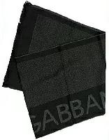 D&G DOLCE&GABBANA ドルガバマフラー ブラック×グレー N10220-N0036マフラー ネイビー×グレー N10220-N0089ドルチェ&ガッバーナ ドルチェアンドガッバーナ