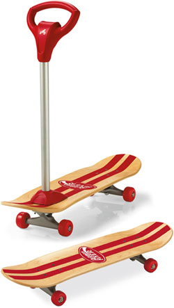 RADIO FLYER ラジオフライヤーTrikes & Bikes 三輪車&自転車Scoot 2 Skate #531Best Beginner's Skateboardスクートトゥースケート取り外し可能ハンドルバースケートボートとキックボードが合体!