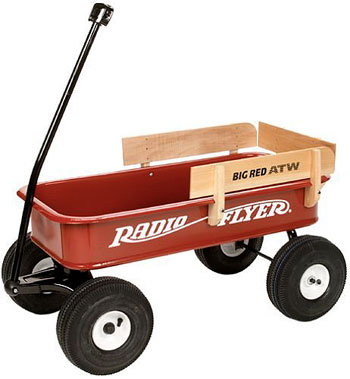 Adopt The Deeper Radio Flyer