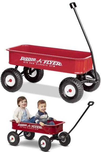 RADIO FLYER ラジオフライヤーAll-Terrain Wagons オールテレーンワゴンBig Red Classic ATW #1800
