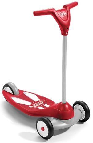 RADIO FLYER ラジオフライヤーRide Ons 乗用玩具三輪キックスクーターバイクバランスを養うにはコレ! レッド前輪が二輪で安定感抜群折りたたんで収納かわいい3輪のキックボードキックボード スケーターバイクMy First Scooter Sport