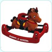 RADIO FLYER ラジオフライヤーRide Ons 乗用玩具Classic Rock & Bounse Pony #351
