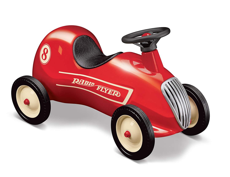 RADIO FLYER ラジオフライヤーRide Ons 乗用玩具Little Red Roadster #8キックカーリトルレッドロードスタークラシックスタイルの乗用車です。