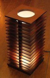 羽根 照明 インテリア スパイラル Spiral テーブルスタンド モダン オリジナル照明 デザイン照明 間接照明 ライト ライティング Light Lighting ランプ Rump リビング ダイニング 寝室 スタンドライト プレゼント DS-027DB
