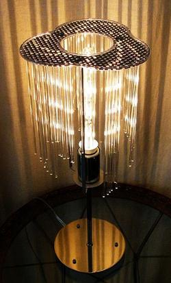 オーロラ AURORA 照明 インテリア テーブルスタンド モダン オリジナル照明 デザイン照明 間接照明 ライト ライティング Light Lighting ランプ Rump リビング ダイニング 寝室 スタンドライト プレゼント DS-013-1C
