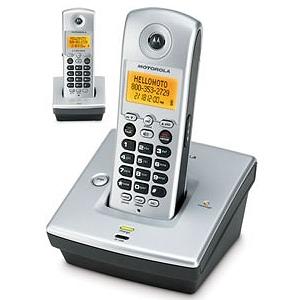 Motorola MD751-2  Cordless Telephoneモトローラーデジタルコードレス電話機Motorola MD7151-2  Cordless Telephone[親機用コードレス&増設用コードレス子機]