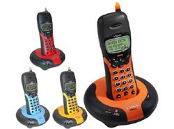 アメリカ限定発売!ブイテック電話機(4カラー着せ替え)2.4GHzデジタル高音質&ページ機能付きVtech GZ2434 TELEPHONE