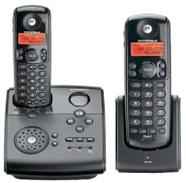 Motorola MD4260-2モトローラーデジタルコードレスフォン2.4GHz 留守番機能付き電話機Cordless Telephone親機用コードレス&コードレス子機