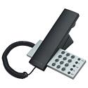 海外デザイン電話機 ブラック×シルバー ブラック×ブラックデザインを考えながらもボタンの操作感を損なわない作り。忙しいビジネスマンにも最高のアイテム。デスクトップ、壁掛け可能