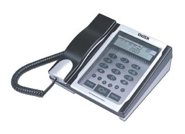 エンツァー 海外デザイン電話機ENZER ET-8329TS傷のつきにくいタッチパネルを採用したデザイン電話機タッチパネルの向こうは透けて奥が見えます。スピーカーフォンも可能なタッチパネル型デザイン電話機
