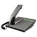 エンツァー 海外デザイン電話機ENZER ET-8337ID斬新なデザインで高級感あふれるボディースピーカーフォン機能もあり
