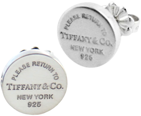 Tiffany&Co. ティファニーRTT リタントゥティファニーラウンドピアス ミニシルバー サークル スタッドピアススターリング シルバーアクセサリーROUND PIERCES MINIPLEASE RETURN TONEW YORK 925