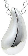 Tiffany&Co. ティファニーエルサペレッティ ティアドロップペンダント T&COペンダントネックレス 涙のしずく 一粒の涙シルバーチェーン Teardropスターリング シルバーPENDANT NECKLACEアクセサリー 925