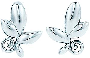 Tiffany&Co. ティファニーパロマピカソ オリーブリーフピアススターリング シルバー925平和と調和の普遍的シンボルであるオリーブの木を讃えたデザインolive pierced earringOriginal designs copyrighted by Paloma Picasso.