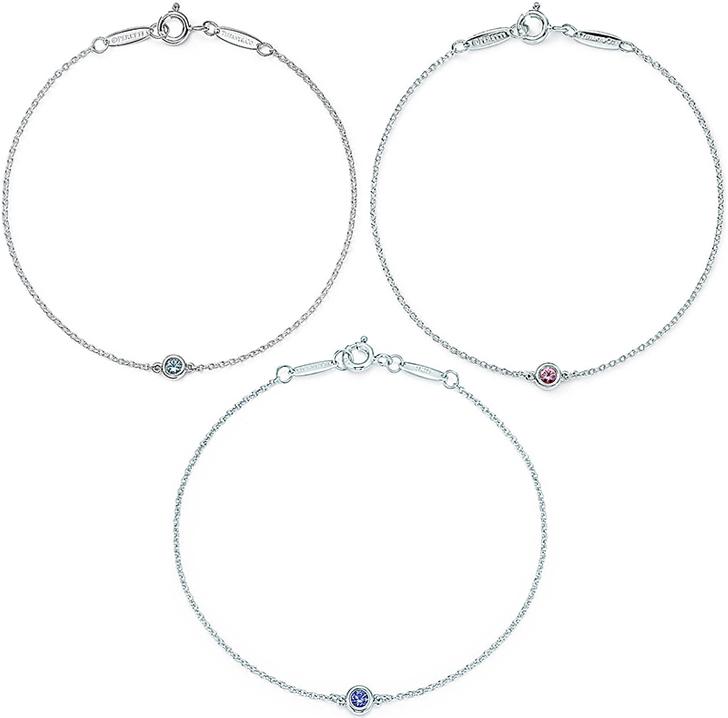 cbe32798a Tiffany &Co. Tiffany color visa yard Elsa Peretti Pink Sapphire sky  blue aquamarine