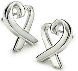 Tiffany&Co. ティファニーラヴィングハートピアス ミニスターリング シルバー925ラビングハート アクセサリー パロマピカソLOVING HEART MINI pierced earring Paloma Picasso.