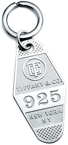 Tiffany&Co. ティファニーホテルタグプレートキーリングスターリングシルバー925キーホルダーHOTELKEYRING 925 NEW YORK NYKEYTAGPLATE KEYRING