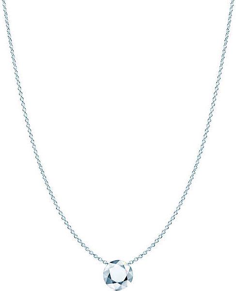 Tiffany&Co. ティファニー2カラットペンダントネックレスファセット 2ct スターリング シルバーチェーンElsa Peretti PENDANT NECKLACEアクセサリー エルサペレッティ