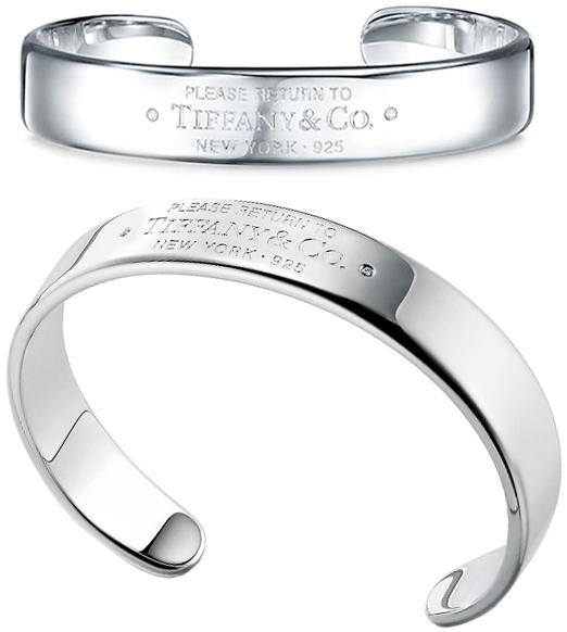 Tiffany&Co. ティファニーラウンドブリリアントカットダイヤモンドカフブレスレット スターリングシルバーリターントゥティファニーナローカフ0.01カラットバングル アクセサリーツーポイントダイヤBANGLE RTTCUFF BRACELET