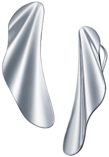 Tiffany&Co. ティファニーウェイブショアピアススターリング シルバー925ハイタイドデザイン スモール波 潮の満ち引きHIGHTIDE PIERCEDEARRINGS ELSA PERETTI