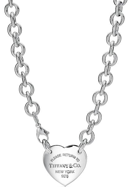 Tiffany&Co. リターントゥティファニーロゴ刻印RTTハートタグプレートスターリングシルバー925ペンダントネックレス シルバーチェーンPLEASE RETURN TO PENDANT NECKLACENEWYORK #XL アクセサリー