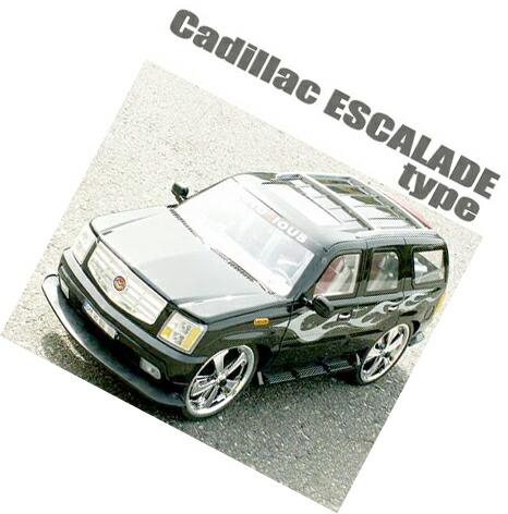 超巨大ラジコン キャデラックエスカレードタイプアイポッドやMP3プレイヤーを繋げて再生すれば車のスピーカーから音が鳴り出す!ヘッドライトやテールランプが点灯!コントローラーからドアの開閉も可能!全長76cmGM Cadillac Escalade type R/C BIG