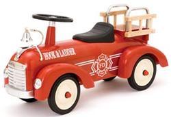 アルタバーグ ARTABURG METAL SPEEDSTER FIRE TRUCKアータバーグ ファイヤートラックメタルスピードスター 消防車レッド子供用ペダルカー&ライドオン[乗り物玩具 乗用玩具]METAL PEDAL CARS & MORE FOR KIDS(Age1-3)