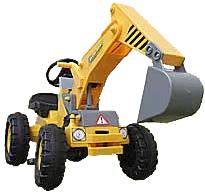 国内最安値! 超ビッグ!125cmの子供用重機カー足漕ぎ乗用ショベルカー左右のレバーで自由自在にアームを操縦可能働く車のおもちゃシリーズ前進・バック・ハンドル操作も思いのまま公園の人気者間違いなし ペダルカー! ペダルカー machine 乗用玩具 おもちゃheavy おもちゃheavy machine, カヅノシ:13005d3b --- canoncity.azurewebsites.net