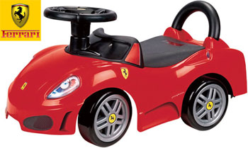 pursuit of real children ferrari certified design italy name car riding toys ride on sports car