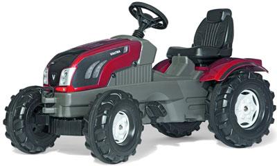 ロリートイズ ヴァルトラトラックキンダートレットトラクター人気のロリーキッズシリーズ!ペダル式で自転車の練習にも使えます微力でこぎだせる様に後輪左側のみ回転しますドイツ製おもちゃ 子供用玩具 ペダルカー農業用 rolly toys 601233