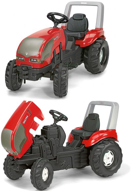 微力でこぎだせる4輪ペダルカードイツ製おもちゃ 子供用玩具ロリートイズ ヴァルトラエックストラックエックストラックトラクター人気のロリーキッズシリーズ!ペダル式で自転車の練習にも使えますRIDE ON Farm XTrack三輪車の練習にも役立つ