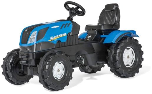 ドイツ製おもちゃ ペダルカーロリートイズニューホーランドブルー×ブラックトラクターキッズトラック 子供用乗用玩具人気のロリーキッズシリーズペダル式で自転車の練習にも使えますトラックローダー 農業用スタイルTOYS KID'S TRACK