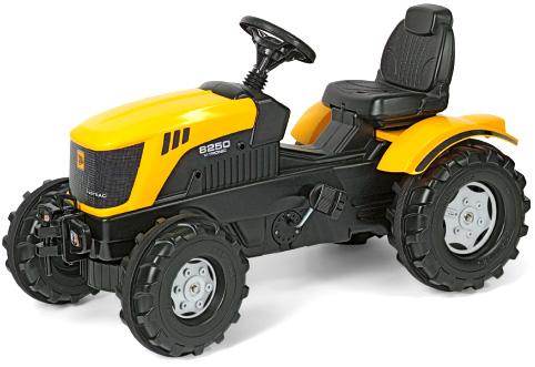 ドイツ製おもちゃ ペダルカーロリートイズジェイシービーイエローオレンジ×ブラックトラクターキッズトラック 子供用乗用玩具人気のロリーキッズシリーズペダル式で自転車の練習にも使えますTOYS KID'S TRACK