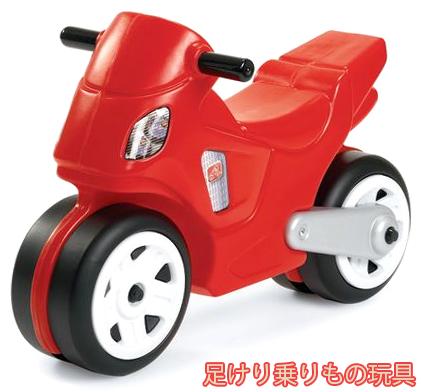 ワイドタイヤビッグバイクモーターバイクスタイル乗用玩具ライドオン2輪バイク安定する幅広タイヤ仕様レッド×ブラックお子様へのプレゼントに最適足蹴りキックバイク 足けりおもちゃモーターサイクル 乗り物玩具