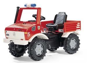 ロリートイズ メルセデスウニモグ憧れのベンツに乗ろう!ペダル式でギアチェンジ付です。ドイツ製おもちゃ 子供用玩具 ペダルカーrolly toys Mercedes Unimog track